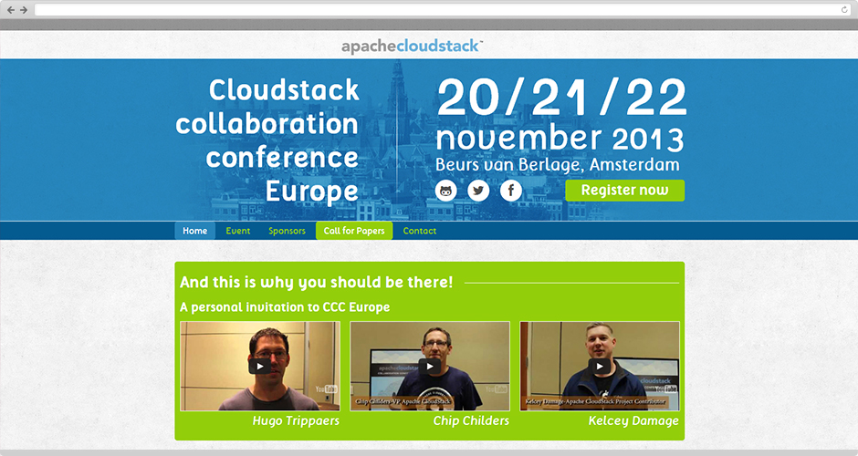 Cloudstack Collaboration Conference Europe